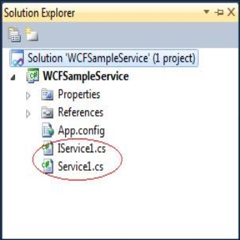 Creating and Accessing WCF Services