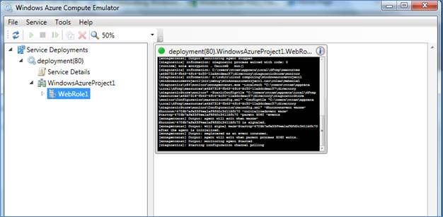 Install and Create a Windows Azure Application in VS 2010