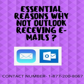 Easy methods to solve outlook emails not receiving issues.