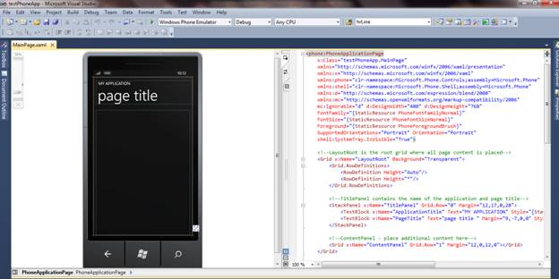 Introduction to Windows Phone 7 Development