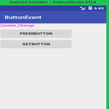 Event Handling in Android