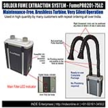 Selecting a right solder fume extraction system within a limited budget in India