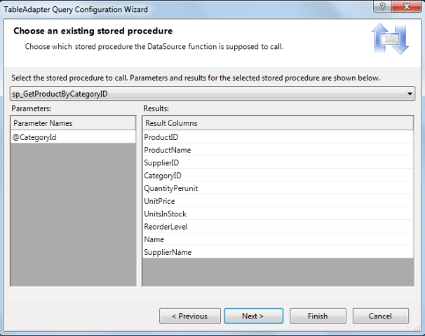 Updating the TableAdapter to Use JOINs