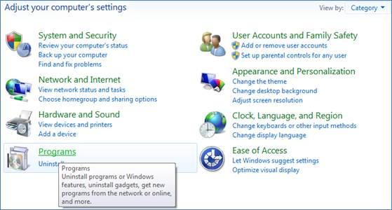 How to Install IIS 7 on Windows 7