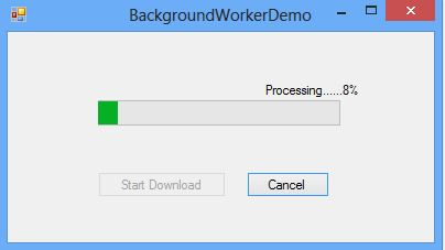 Multithreading with the BackgroundWorker Component in ASP .NET