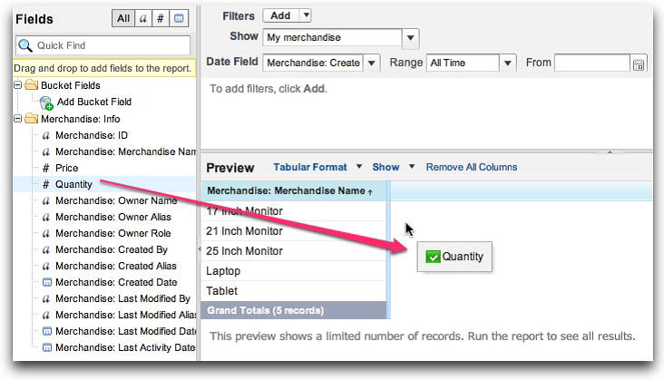 SFDC Reports: Analyze Data with Reports