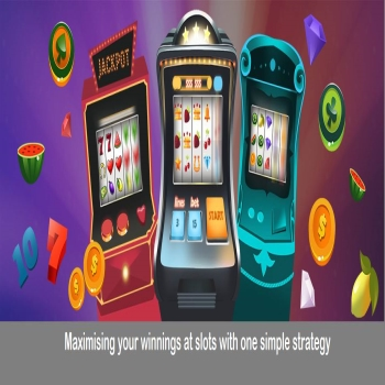 Maximising your winnings at slots with one simple strategy