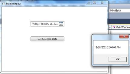 DatePicker control in WPF