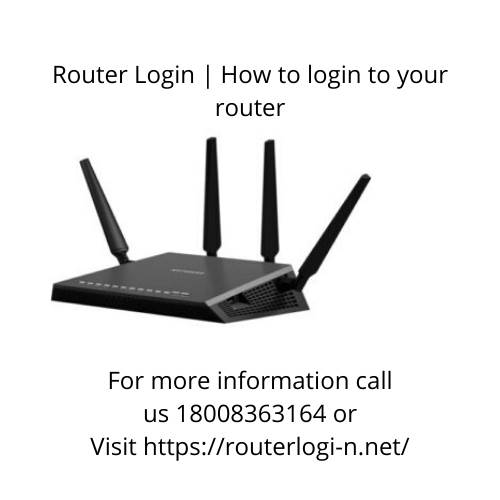 How do I log in to my router?