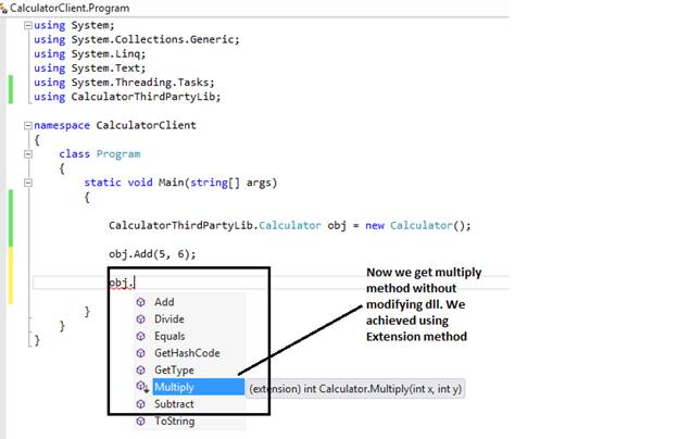 Extension Method in C#