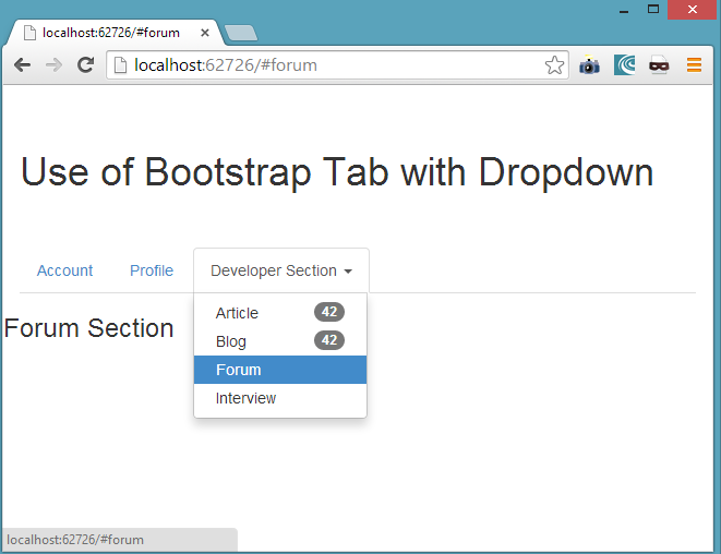 Bootstrap Components Part I