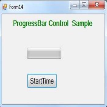 ProgressBar Control in VB.Net