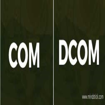 Difference Between COM and DCOM