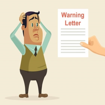 Avoid These 4 Red Flags Using A Warning Letter