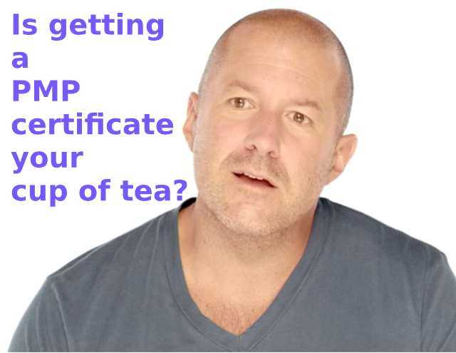 Is getting a PMP certificate your cup of tea?