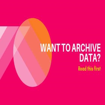 Want To Archive Data? Read This First