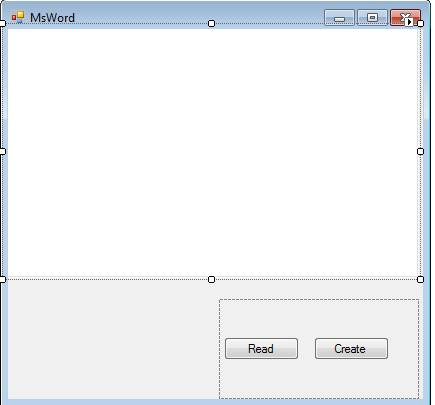 Read Microsoft Word Document File by using C#