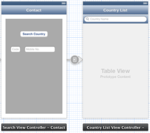 Implementing UISearchBar in Table View