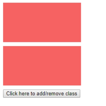 Use jQuery toggleClass()