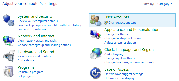 Turn User Account Control (UAC) on or off in windows OS