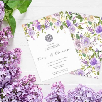 A Guide to Types of Wedding Invitation Cards