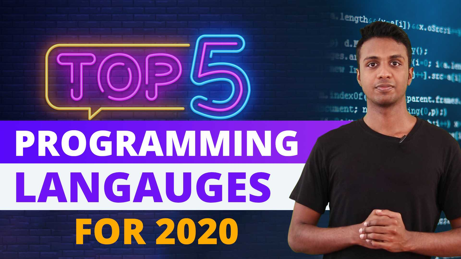 Best Programming Language to learn in 2020