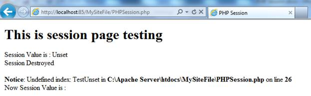 PHP Session