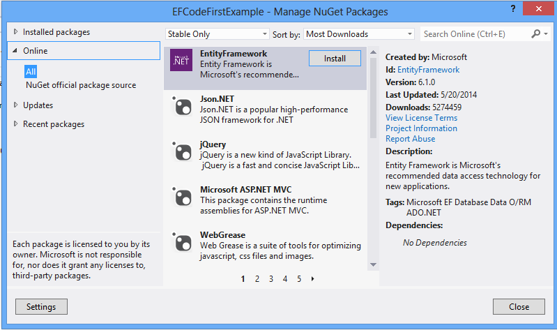 Transaction in code first approach in entity framework