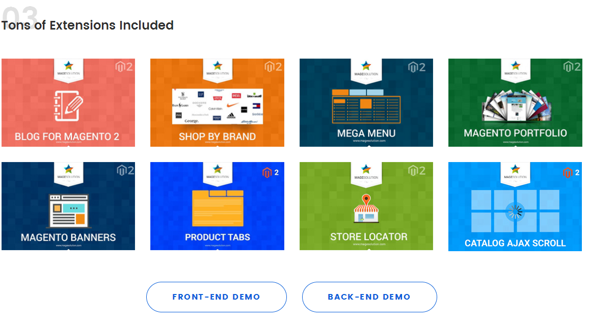MGS Front-end Builder for Magento 2 - Best selling product on Magento Marketplace