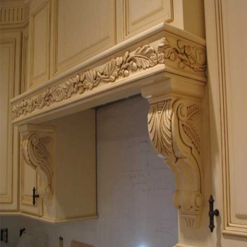 Unique uses of corbels for decorating a house