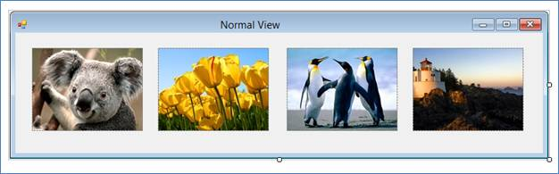 Displaying an array of images in pictureBox C#