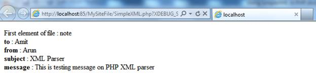 SimpleXML in PHP