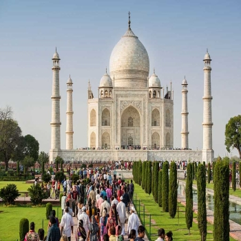 Let's explore the Mughal Empire along with one of the 7 Worlds of Wonder Taj Mahal