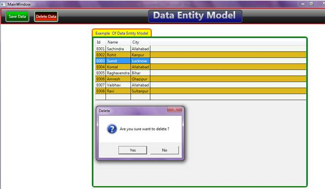 ADO.NET Entity Data Model in WPF