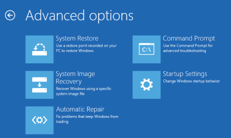 How to open Windows 8 as Safe Mode.