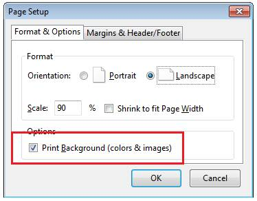 Print and Print Preview separately using HTML, CSS and JavaScript