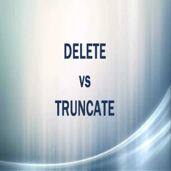 DELETE, TRUNCATE with RESEED Identity in SQL Server