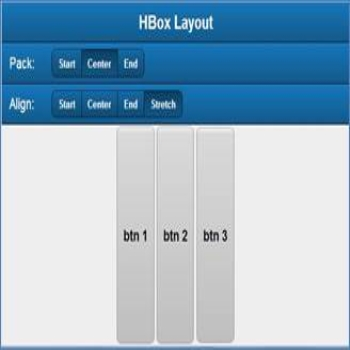 Hbox Layout in Sencha Touch