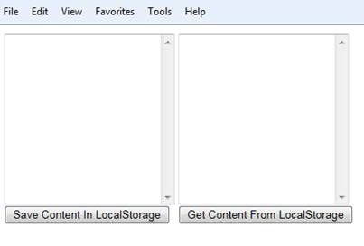 Storing data on Client in HTML5
