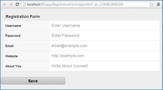 Form Validation using Model in Sencha Touch