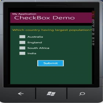 CheckBox control in Windows Phone 7 Development