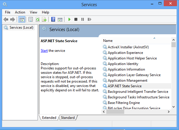 StateServer session state in asp.net
