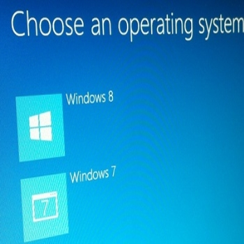 How to install a Windows 8 upgrade on an empty hard drive