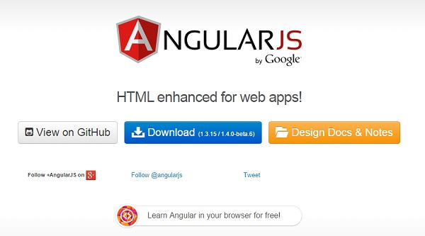 Angularjs Environment setup