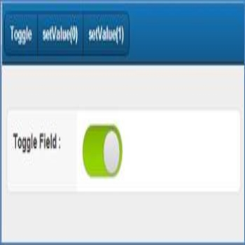 Toggle Field in Sencha Touch