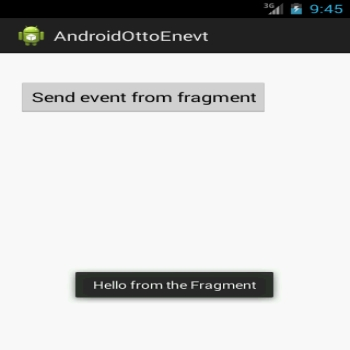 Using the Otto Event Bus library on Android