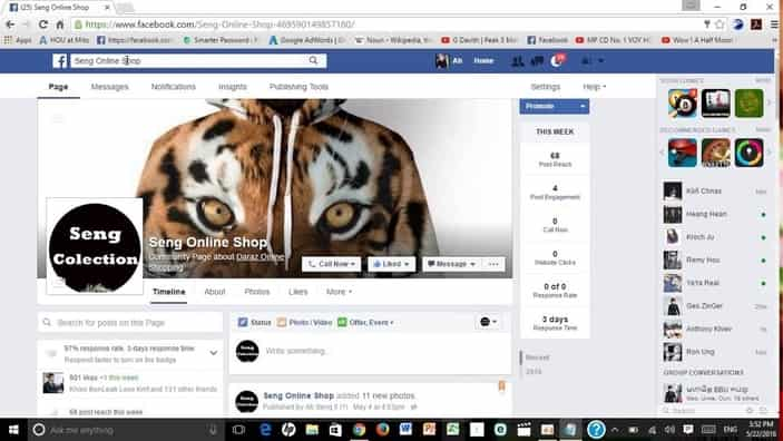 Making money with Facebook pages
