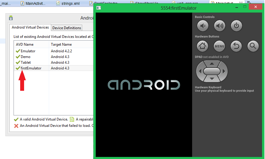 How to create an Emulator in Android