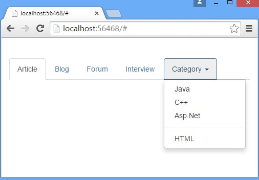 Creating and activating tabs with Bootstrap