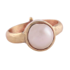 Pearl Panchdhatu Adjustable Ring for Men